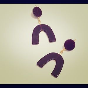 Madewell Acrylic Resin Geometric Shape Earrings